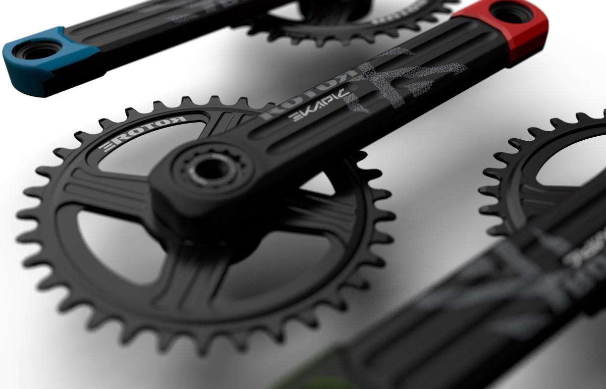 Bielas Rotor eKAPIC <br>Preparadas para tu e-bike