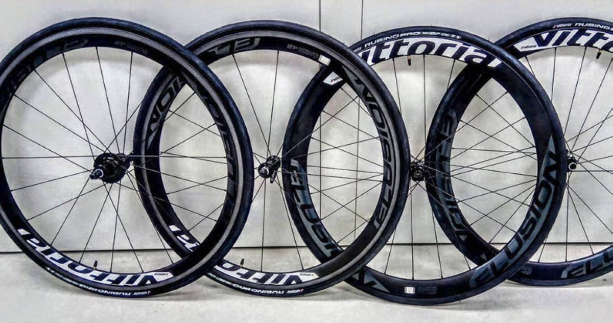 Nuevas ruedas para road, cx y gravel Elusion Carbon de Vittoria