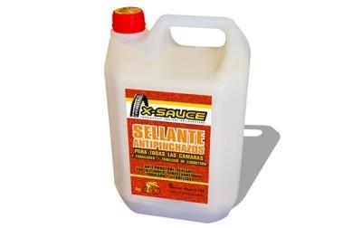 Nuevo bidón de líquido anti-pinchazos de X-Sauce