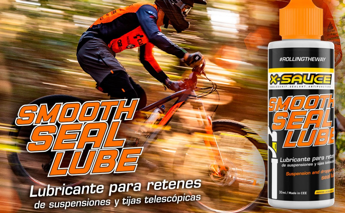 Nuevo Smooth lube de X-Sauce lubricante específico para barras y retenes