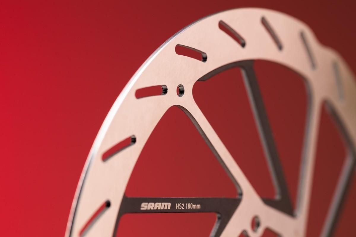 Nuevos discos Sram HS2 para mejorar la frenada