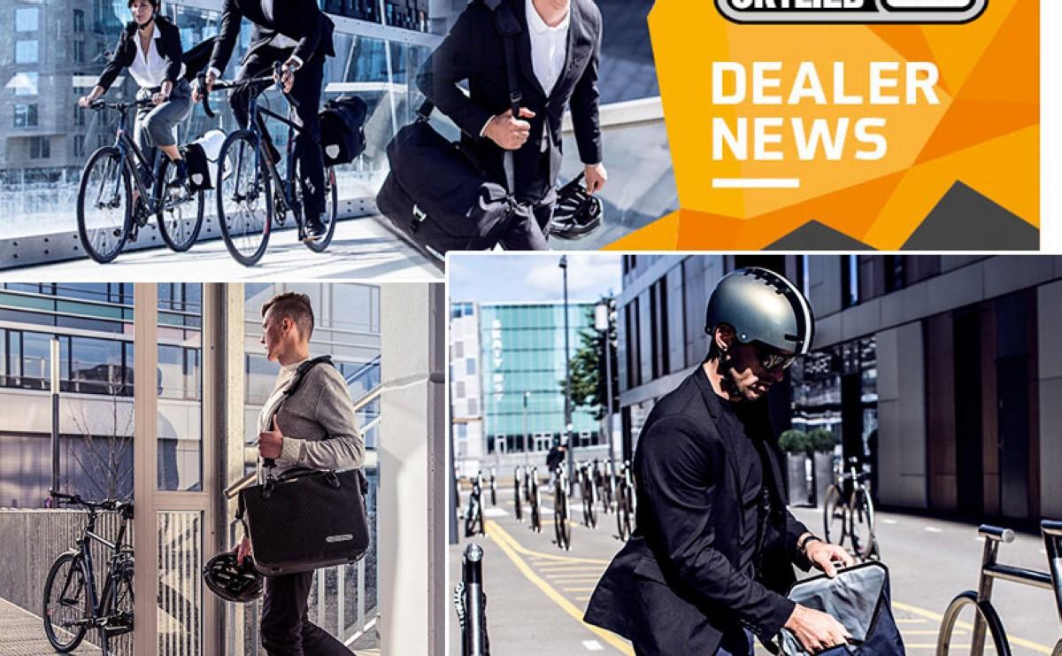 Ortlieb ofrece soluciones de transporte para el ciclista urbano