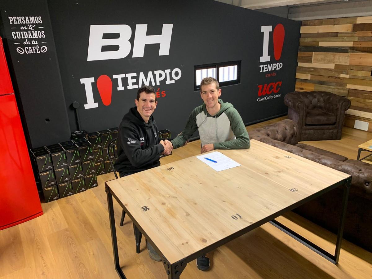 Pablo Rodríguez fichaje estrella del BH Templo Cafés para la temporada 2020