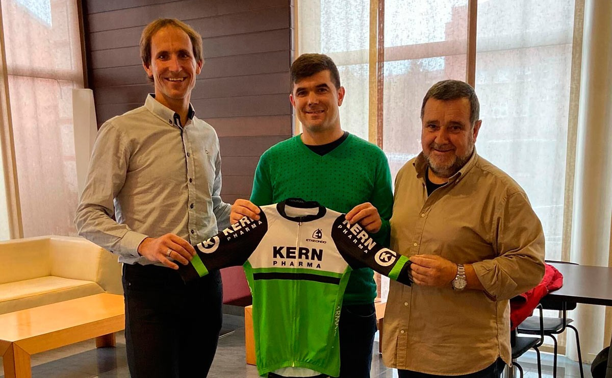 Pablo Urtasun será el director del equipo Kern Pharma