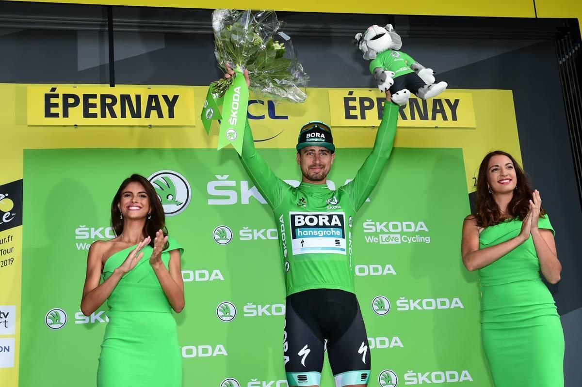 Peter Sagan centrado en lograr el maillot verde en este Tour de Francia 2019