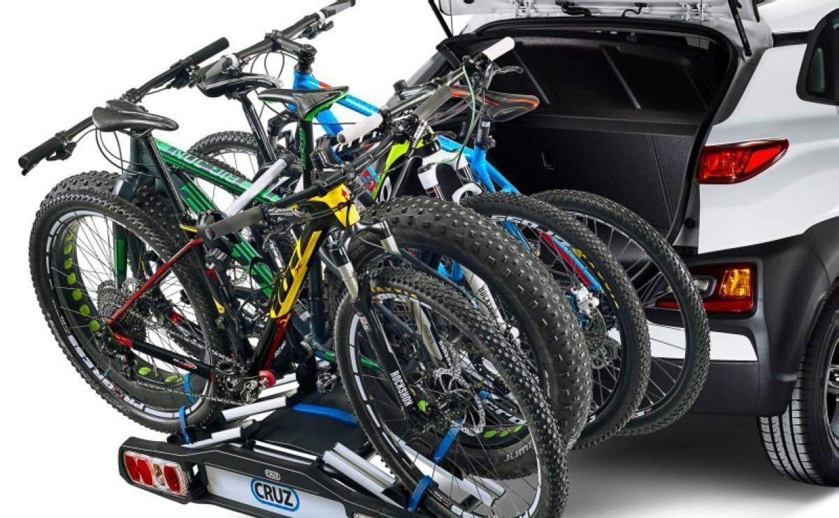 Tipos de portabicicletas para el automóvil