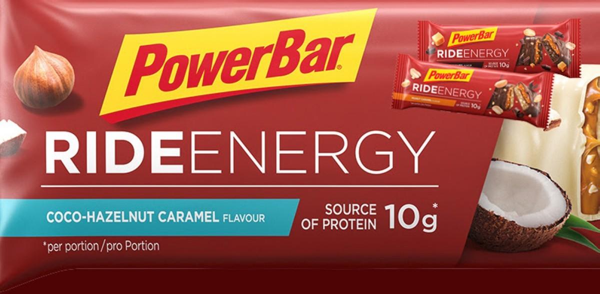 PowerBar se supera con la deliciosa Ride Energy Coco Hazelnut Caramel