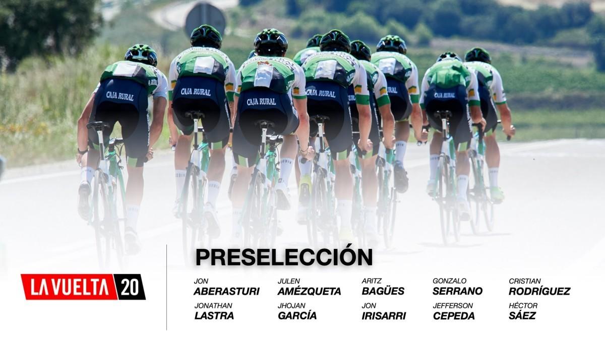 Preselección del Caja Rural-Seguros RGA para la Vuelta 2020