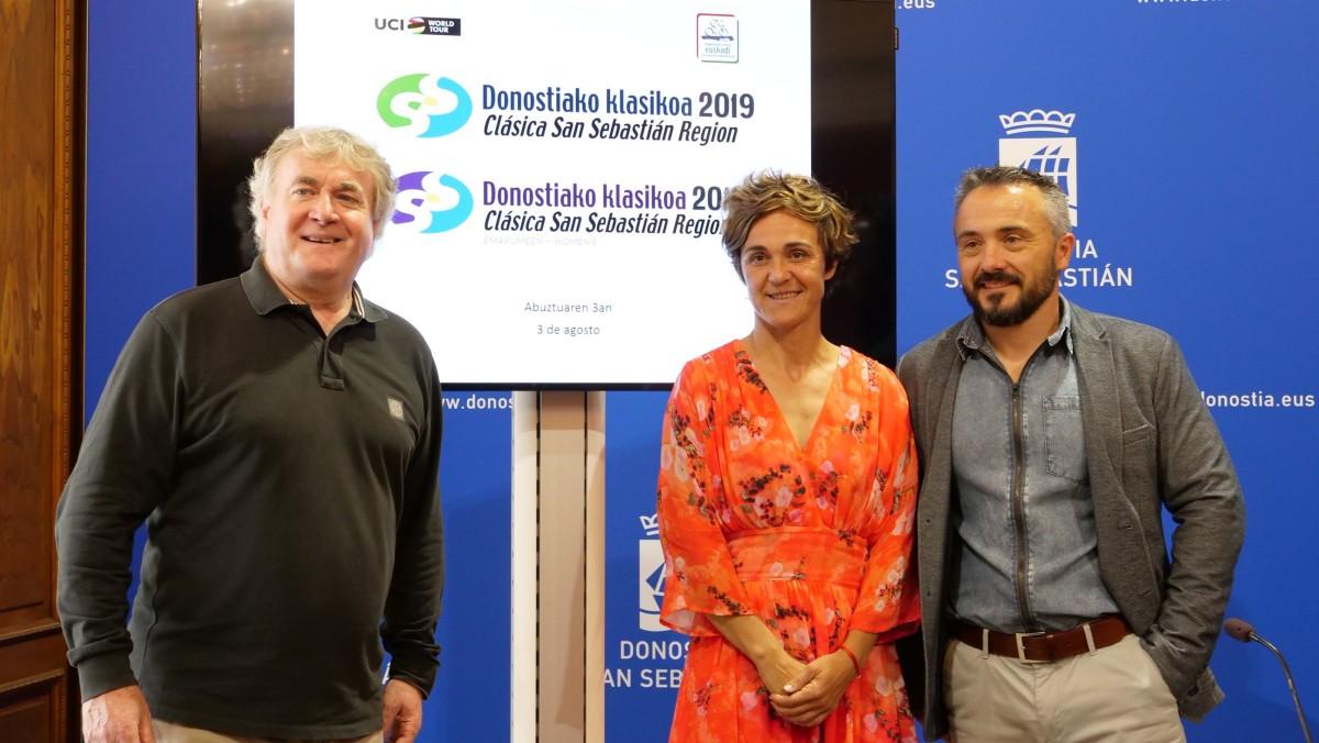 Presentación de la Clásica San Sebastián 2019