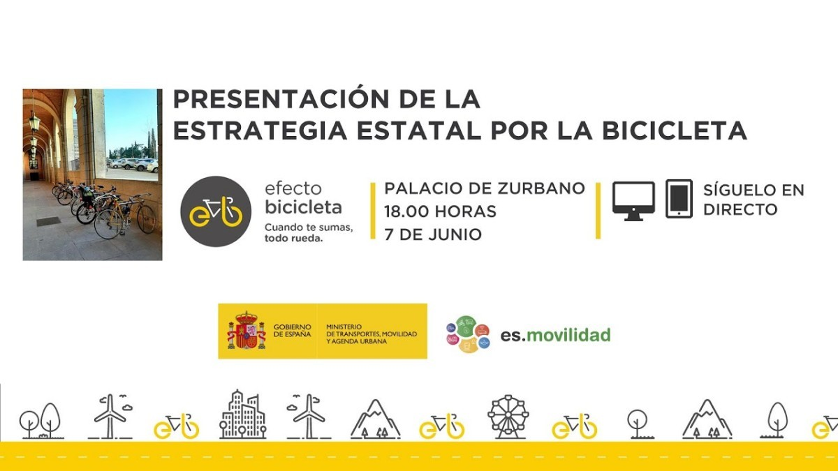 Presentada la Estrategia Estatal por la Bicicleta para impulsar su uso desde todos los ángulos