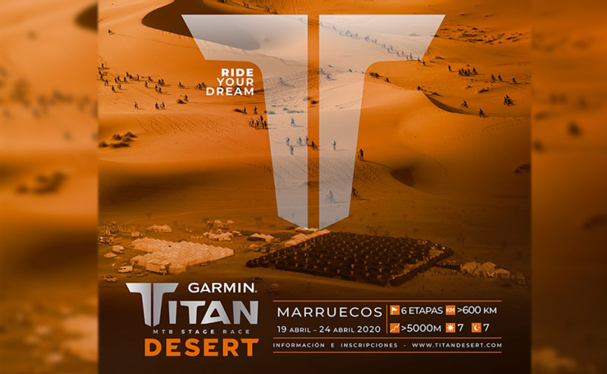 Presentada la XV edición de la Garmin Titan Desert