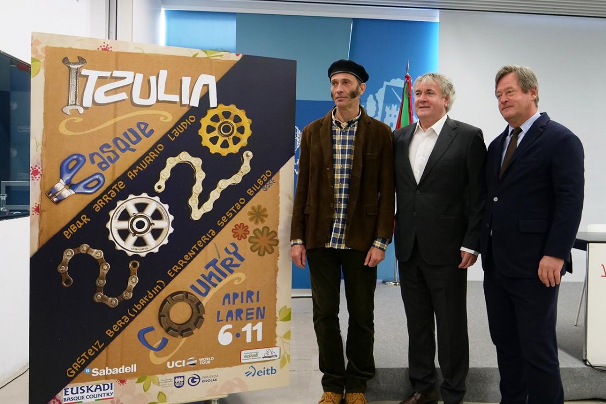 Presentado el cartel de la Itzulia Vuelta al País Vasco 2020