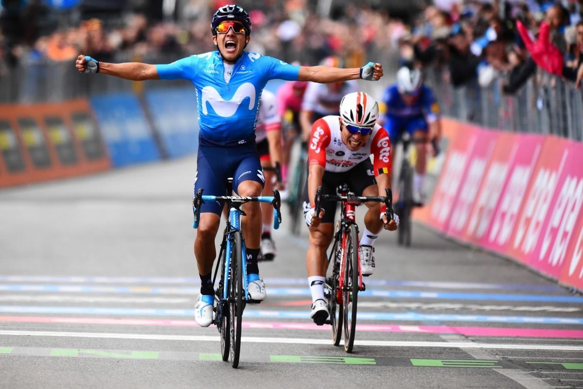 Primera victoria de Movistar Team en el Giro 2019 con Richard Carapaz