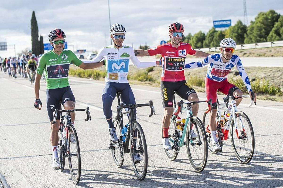 Primoz Roglic ganador final de la Vuelta 2020