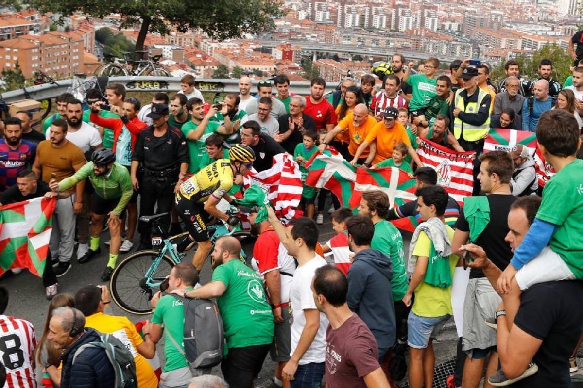 Prohibido el público en la subida a los puertos de Arrate y Orduña de La Vuelta 2020