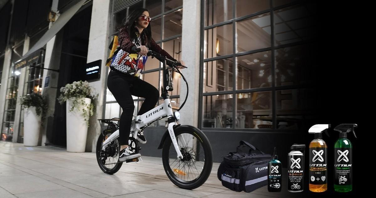 Black Friday Littium: Hazte con el pack de regalos para tu bicicleta eléctrica