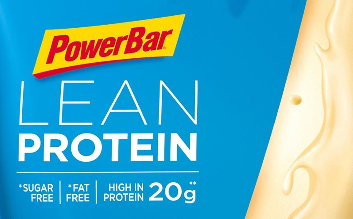 Proteínas de alta calidad con LEAN de Powerbar
