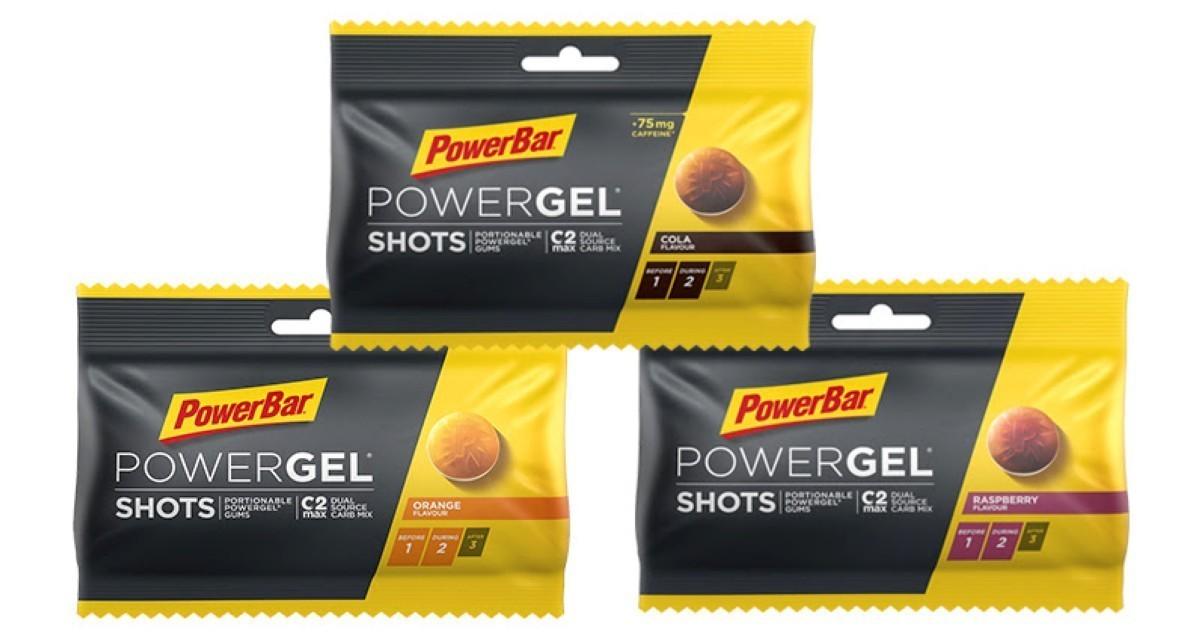 Prueba el nuevo PowerGel Shots con sabor frambuesa