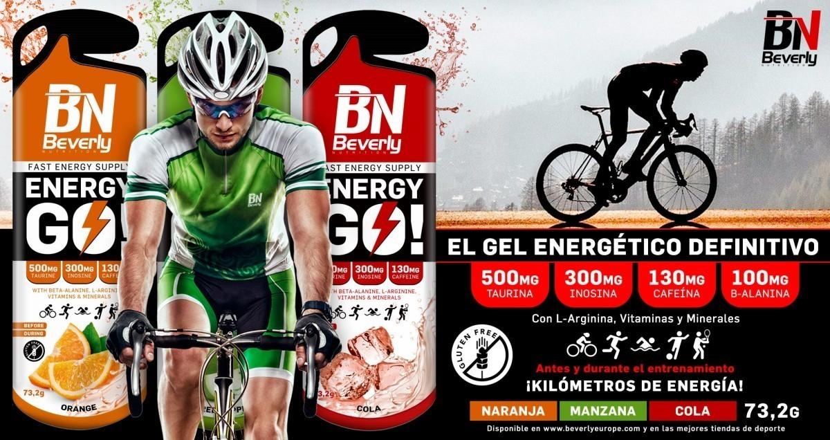 Recárgate con el gel energético definitivo: Energy Go!