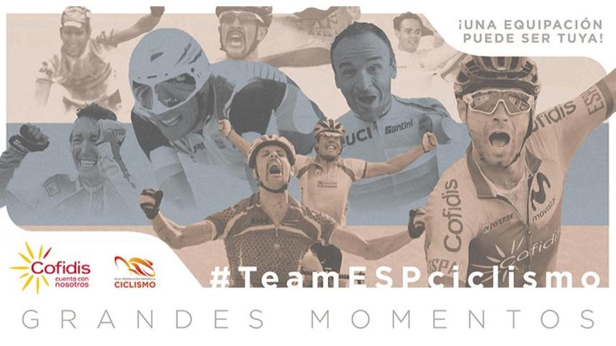 Recuerda tu momento más especial con la Selección Española de ciclismo