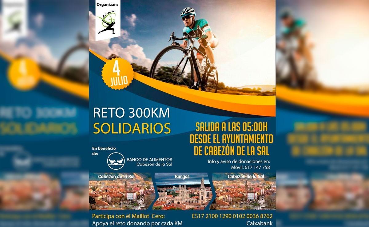 Reto solidario 300km en Cabezón de la Sal