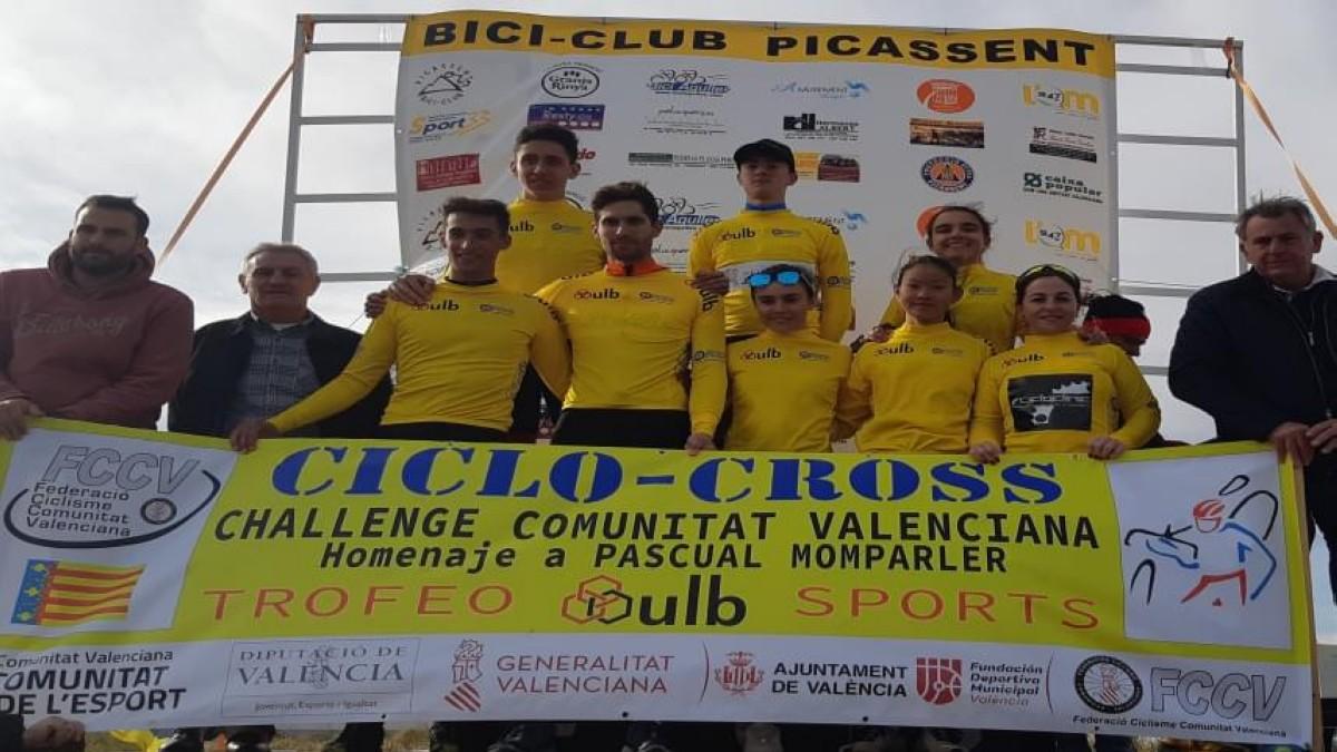 Riba-Roja y Picassent acogieron la Challenge de ciclocrós valenciana