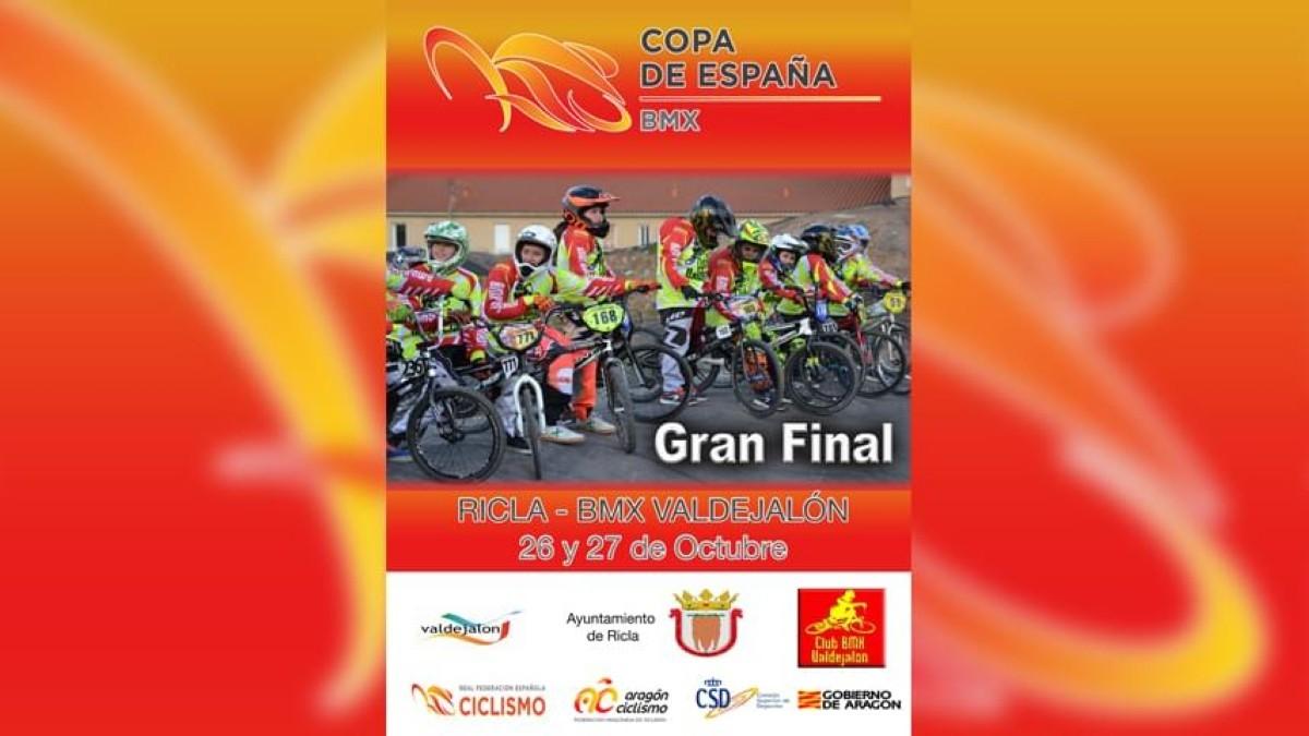 Ricla última cita de la Copa de España de BMX 2019