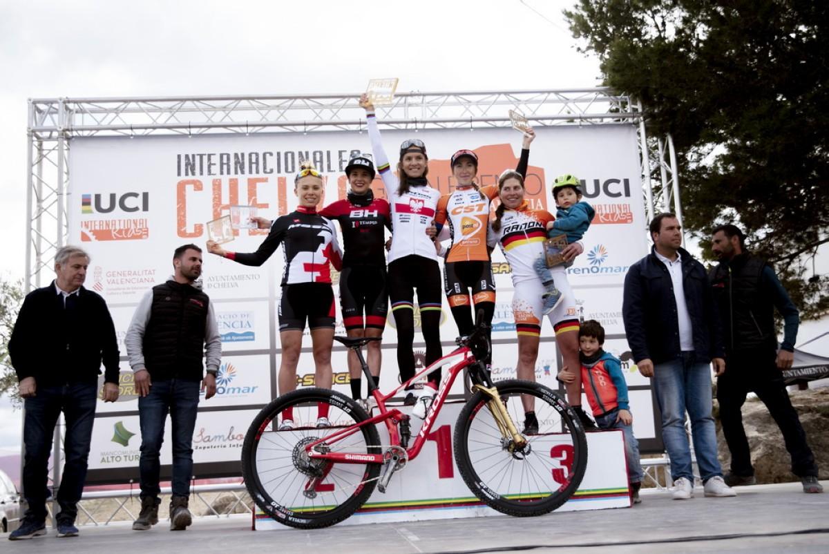 Rocío García logra subir al podio en los Internacionales de Chelva