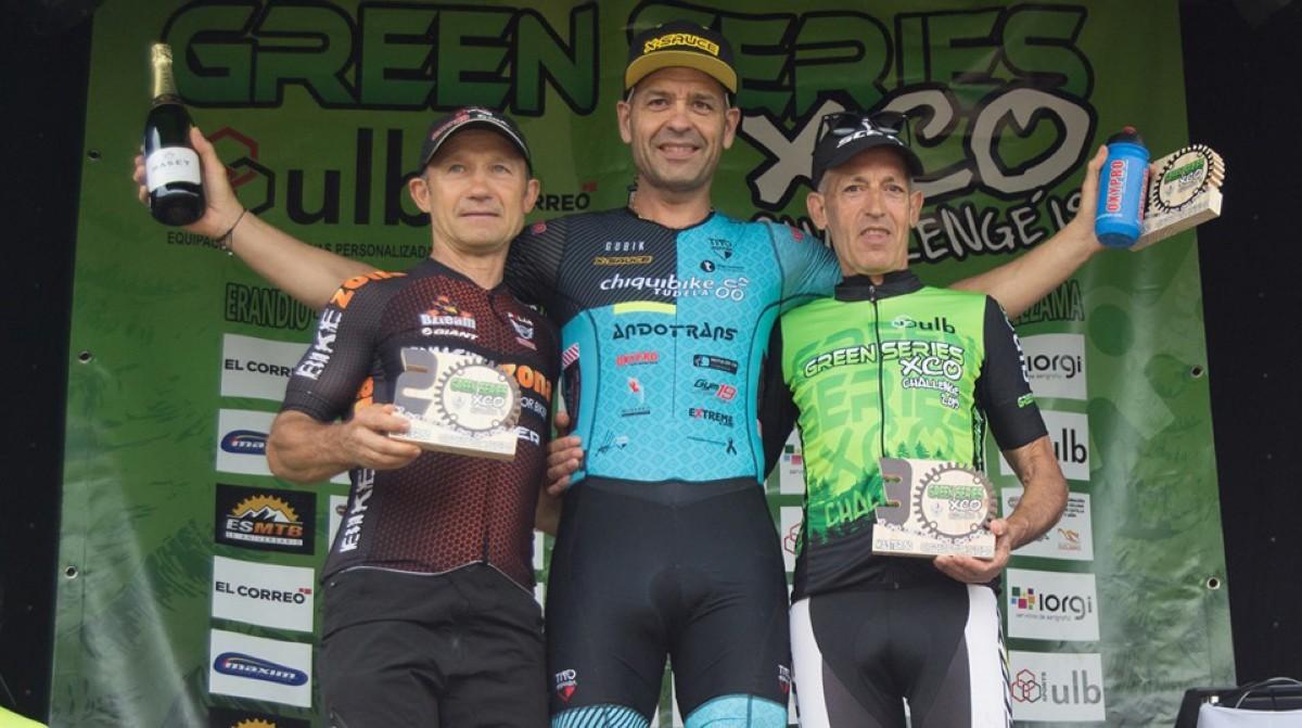 Rubén Glera sube al podio en Castañeda, octava prueba de las Green Series