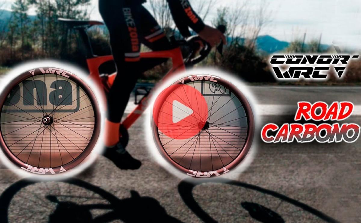 Ruedas WRC Road carbono <br> para rodar fácil