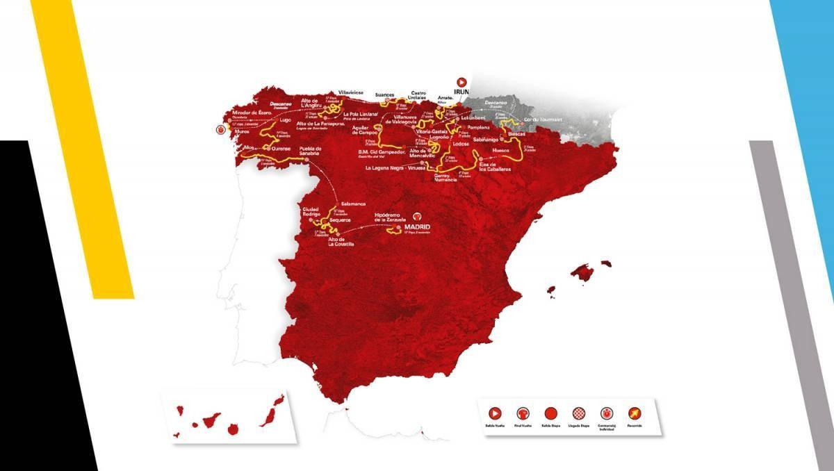 Salamanca y Puebla de Sanabria completan el recorrido de La Vuelta 2020