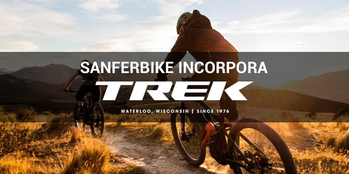 Sanferbike incorpora a Trek como nueva marca de bicicletas