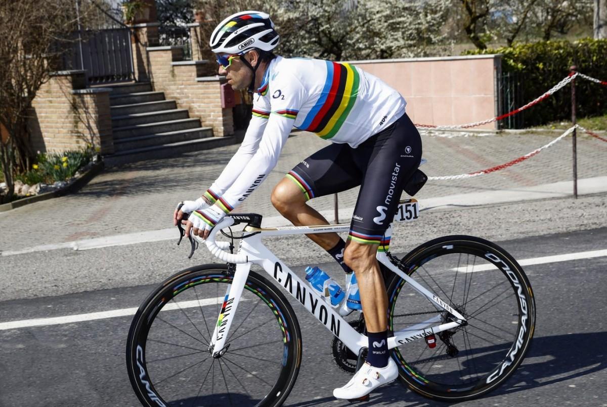 Se confirma la ausencia de Alejandro Valverde en el Giro de Italia