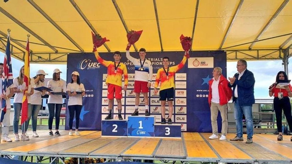 Seis medallas para la Selección Española en el Europeo de Trial 2020