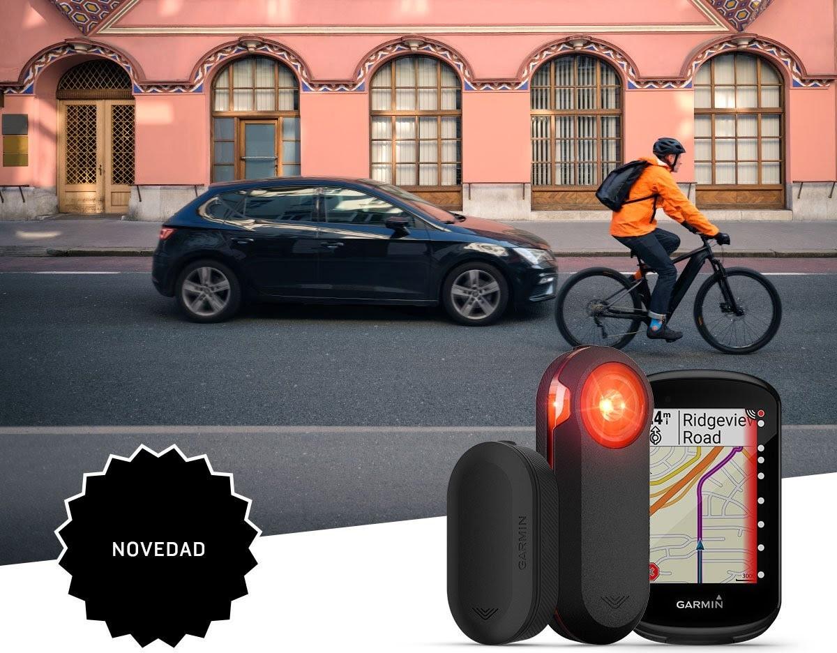 Siempre atento con los nuevo radares para bicicleta Varia de Garmin