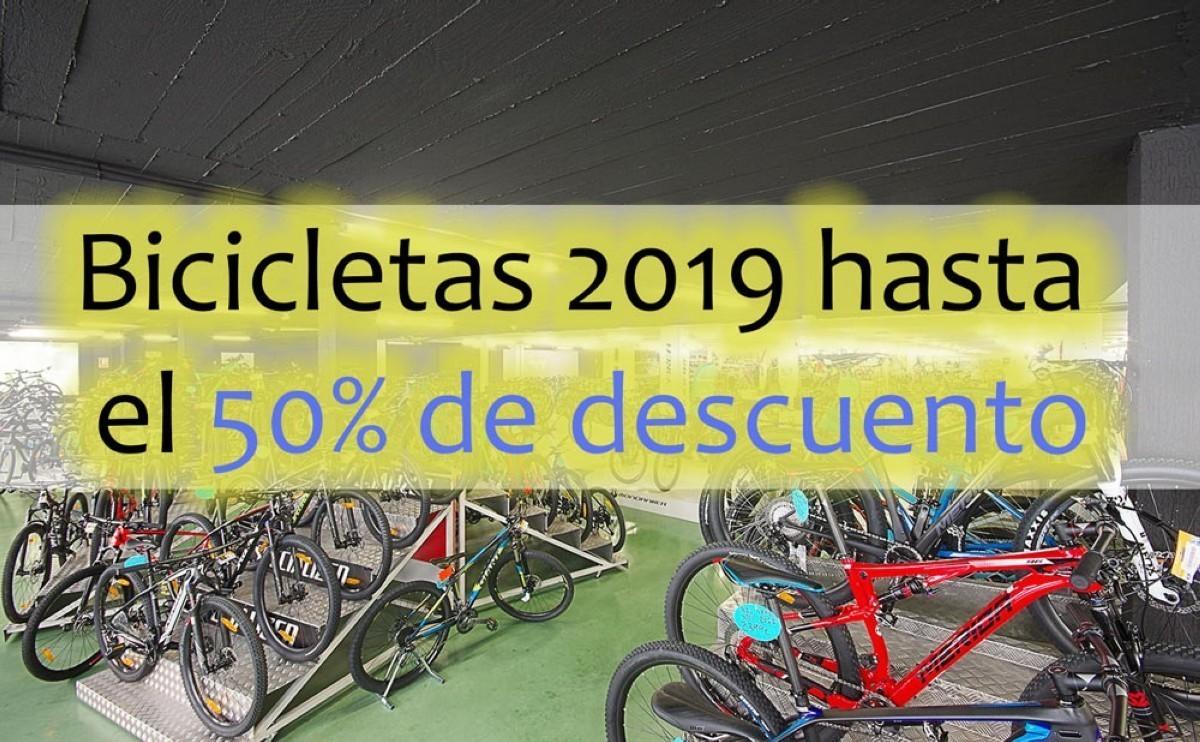 Superofertas Oiartzun Bike: Todas las bicicletas de 2019 con hasta un 50% de descuento