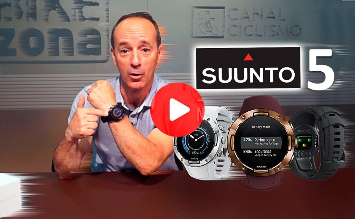 Vídeo presentación: Reloj multideporte SUUNTO 5