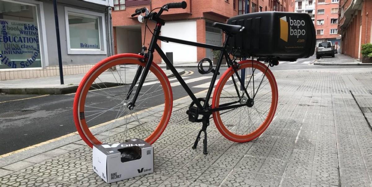 Tannus, la solución ideal para el reparto en bicicleta