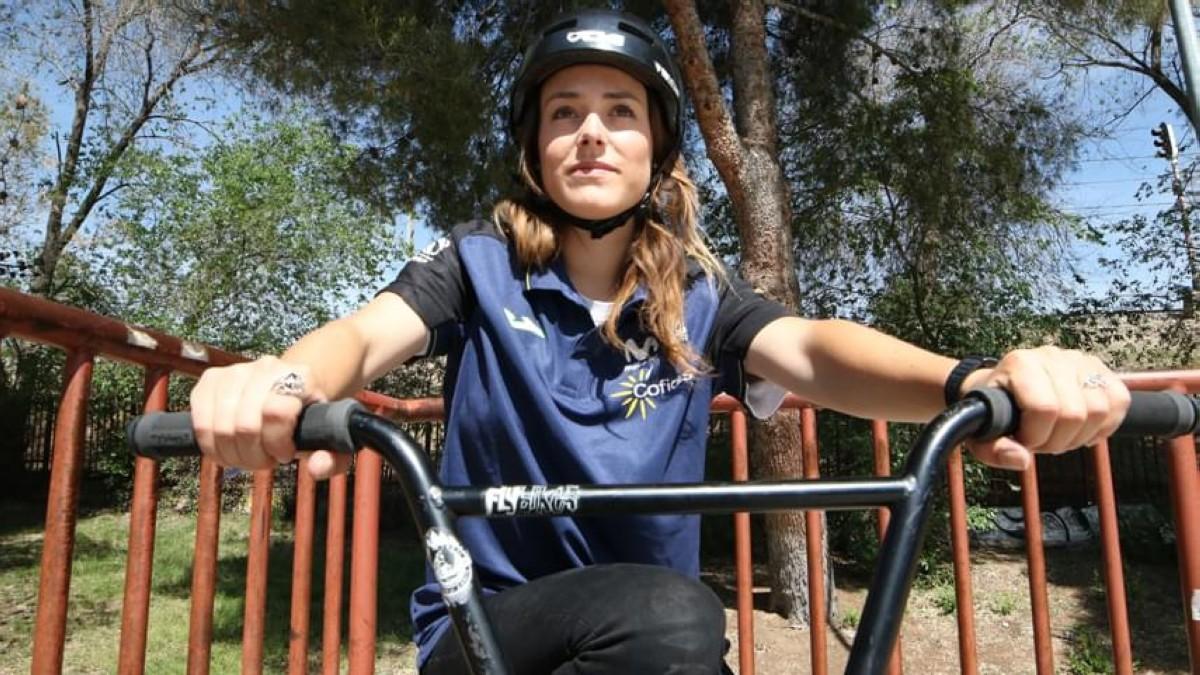 Teresa Fernández-Miranda compite en el Europeo de BMX Freestyle