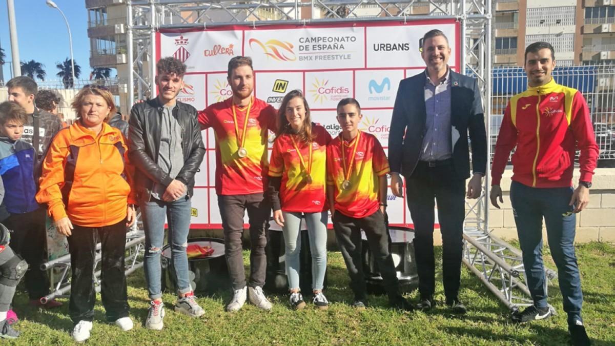Teresa Fernández-Miranda y Daniel Peñafiel, campeones de España de BMX Freestyle Park 2019