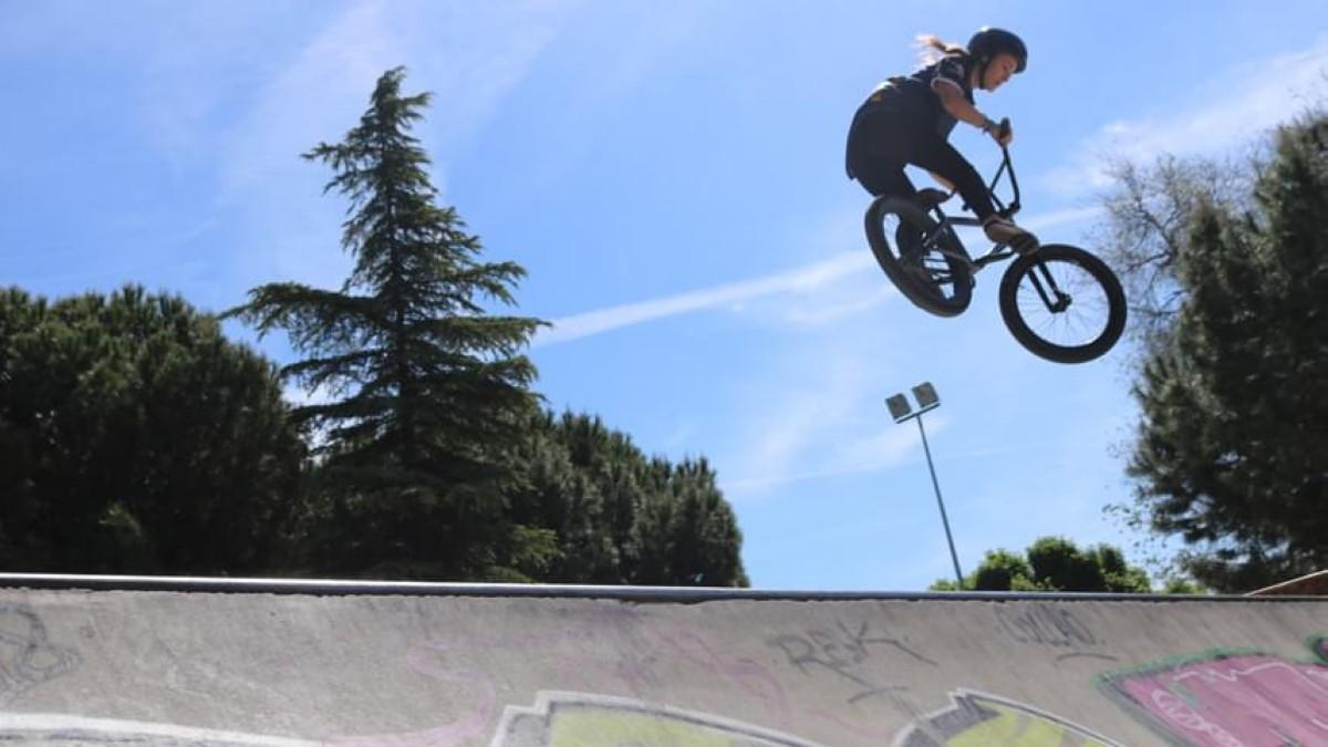 Teresa Fernández-Miranda disputa en Montpellier la 2ª cita de la Copa del Mundo de BMX