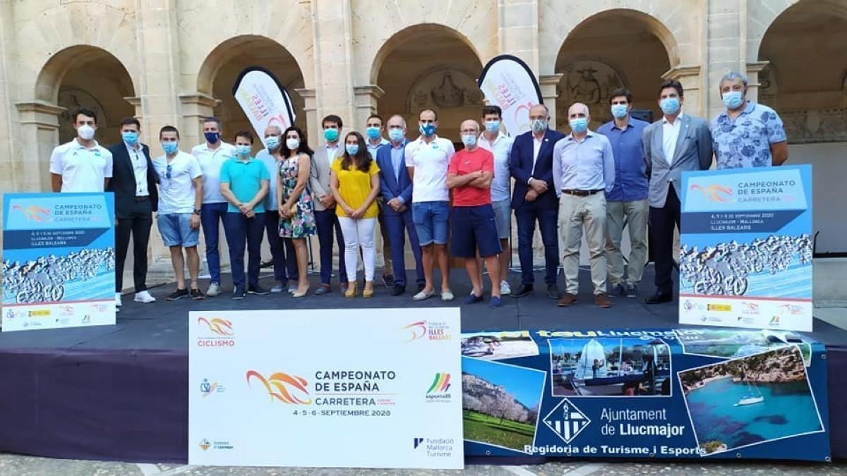 Todo preparado para el Campeonato de España de Carretera Junior y Máster 2020