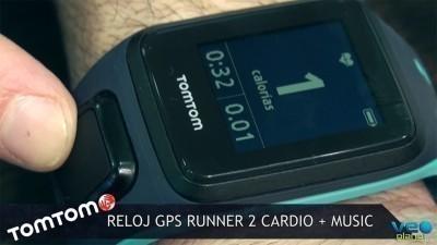 Tom Tom GPS Runner 2 Cardio + Music el reloj más innovador