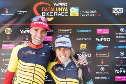 David Valero y Clàudia Galicia se llevan la tercera YoPRO Catalunya Bike Race