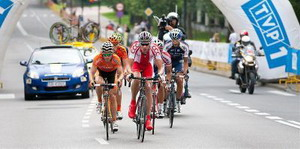 Euskaltel presenta equipo para el Tour de Polonia