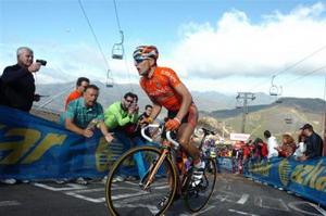 Igor Antón sube un puesto en la clasificación de La Vuelta