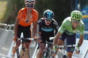 Euskaltel  con los mejores en la etapa decisiva de La Vuelta