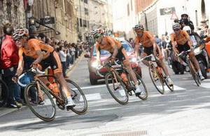 Samu Sánchez hace balance del Giro de Italia