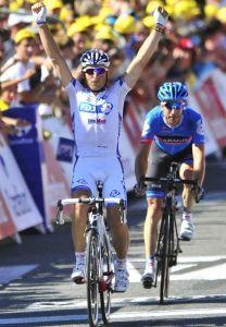 Tour de Francia, Fédrigo se lleva la 15ª etapa