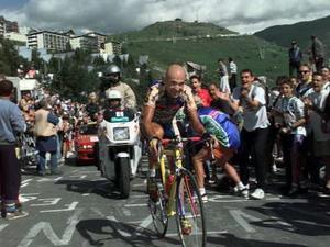 Vídeo - Marco Pantani el más rápido en Alpe D Huez